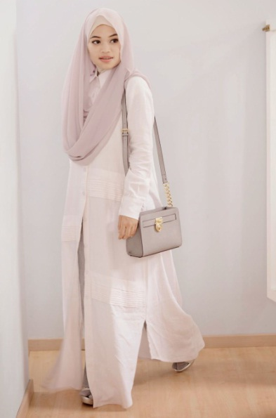 gambar dress muslim modern